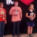 Maarten jeugdkampioen Laren